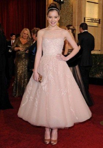 Hailee Steinfeld zapatos Oscar 2011