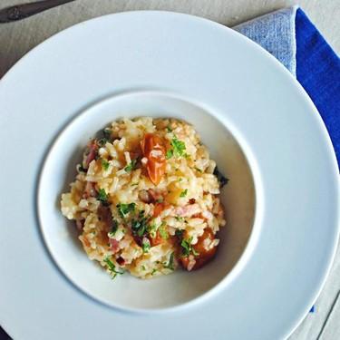 Receta de risotto de bacon y tomates cherry al horno: la manera más fácil y rápida de preparar arroz
