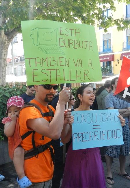Foto de Maniferstación informática 30J (2/7)