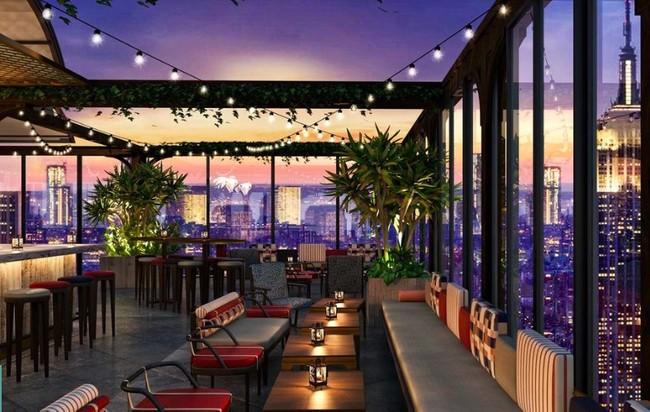 Bar de terraza más grande de Nueva York