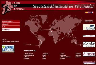 Dos Wine-trotters viajarán por todo el mundo en su proyecto Vinos sin Fronteras