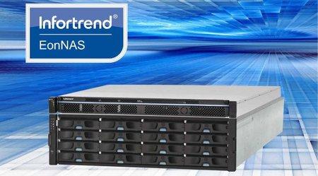Nuevos productos de almacenamiento de la gama EonNAS de Infortred para las empresas