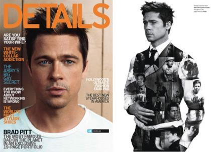 Brad Pitt colapsa las portadas