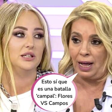 Estalla la guerra contra las Campos: Rocío Flores, dispuesta a verse las caras con Carmen Borrego en 'Supervivientes 2021' tras sus últimas declaraciones