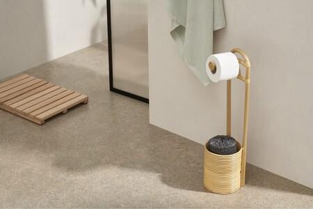 El baño al detalle; 11  portarrollos de diferentes formatos (de pie, cestas portarrollos, de pared...)  para guardar y dar soporte al papel higiénico