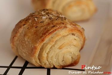 Receta de pan de mantequilla y tomillo