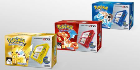 Tres nuevos packs de 2DS que nos dejarán sin excusas para no celebrar los 20 años de Pokémon