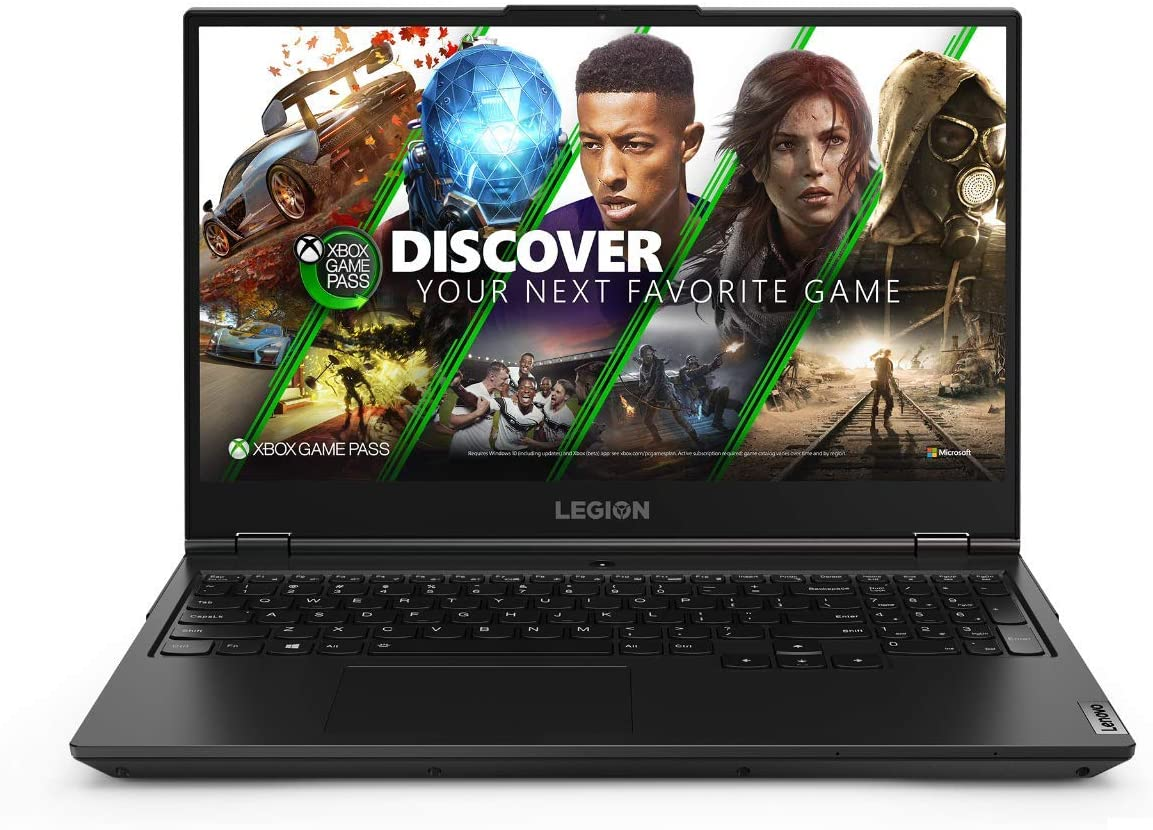 "Lenovo Legion 5 - Portátil Gaming 15.6"" FullHD 144Hz (Intel Core i7-10750H, 16GB RAM, 512GB SSD, NVIDIA RTX2060-6GB, Windows 10), Negro - Teclado QWERTY Español"