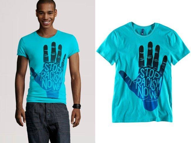 H&M y sus prendas con mensajes contra el racismo