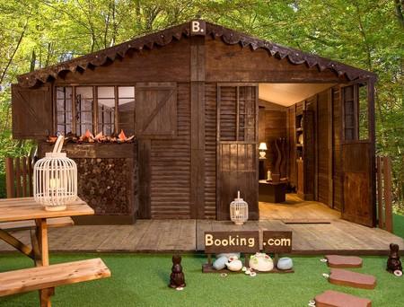 Un alojamiento de chocolate ¿podrías dormir allí sin darle un mordisco?