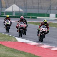 Los pilotos de Moto3 también ultiman los preparativos para final de temporada