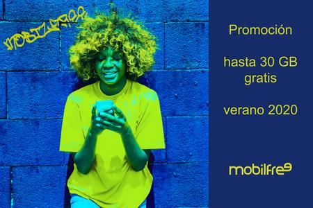 Mobilfree suma nueva promoción de verano, ahora con hasta 30 GB adicionales gratis