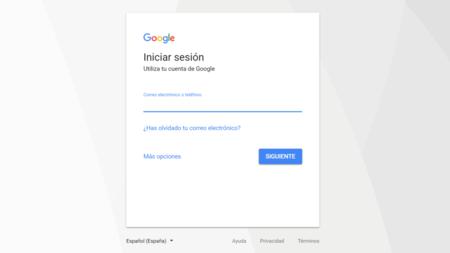 Iniciar Sesion Cuenta Google