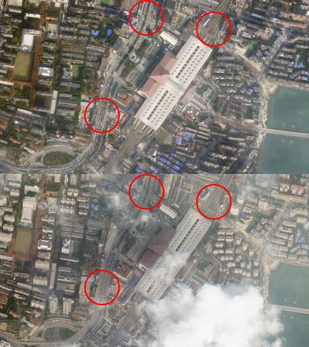 Wuhan Satelite Calles 01