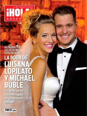 Luisana Lopilato y Michael Buble, eso es sacar tajada y lo demás tonterías