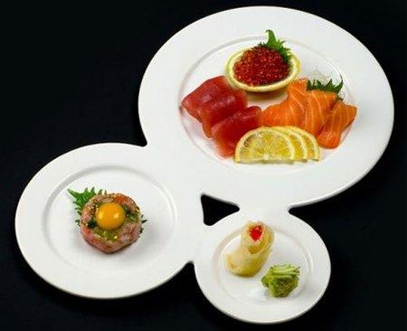 Plato triple para gourmets