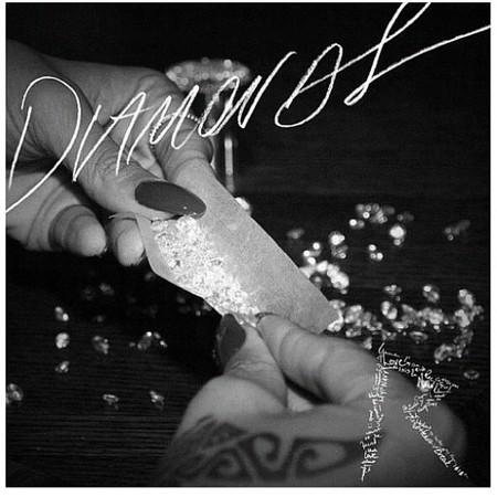 Rihanna se lía un canuto de diamantes para su próximo single
