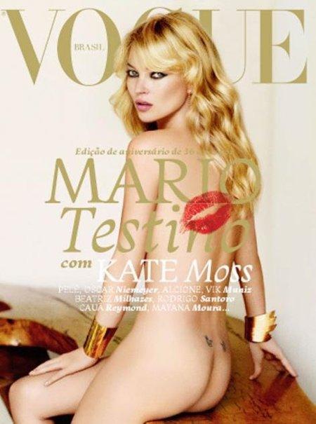 Kate Moss, Mario Testino y Vogue Brasil, ¿qué más?