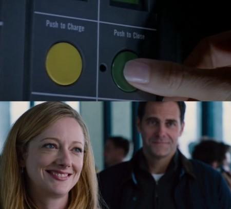Jurassic World y Jurassic Park, el botón verde