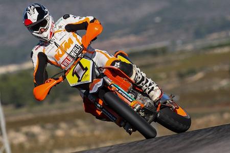 Campeonato de España de Supermotard 2012: reparto de premios, Francesc Cucharrera campeón