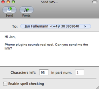 Phone plugins, usa tu móvil desde Mac OS X