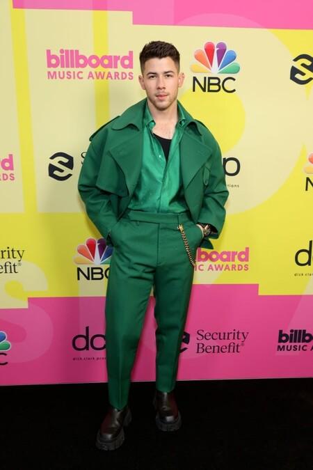 Joe Jonas Fendi Billboard Awards Red Carpet 3