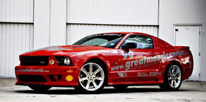 Primera imagen del Saleen Mustang Great American Run