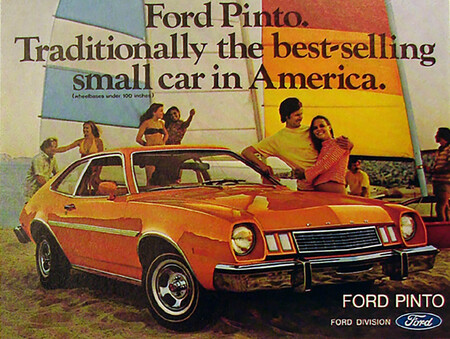 Ford Pinto Traditionally Best Selling Car 1977