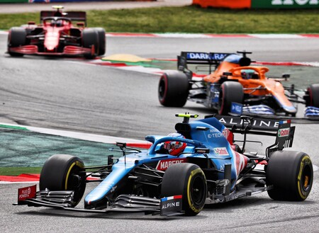Ocon Barcelona F1 2021