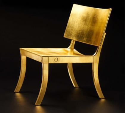 Frederik Mattson: Silla en oro
