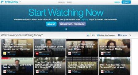 Frequency: convierte cualquier web en un canal de vídeos y disfruta de ellos desde una misma aplicación