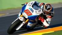 Maverick Viñales en Moto3 y Pol Espargaró en Moto2 dominan en el segundo día de test en Valencia