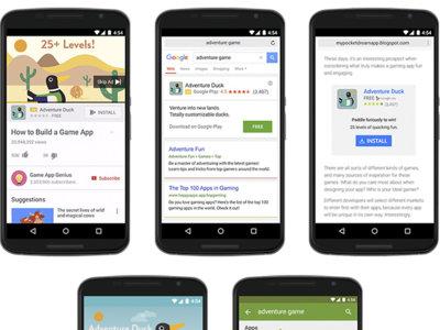 Google Play Store lanza para desarrolladores las campañas de promoción universales