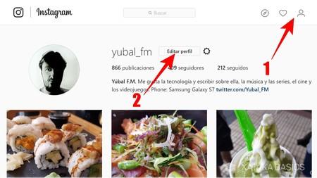 Editar Tu Perfil De Instagram
