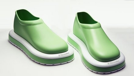 Zapatos aspiradora de Electrolux