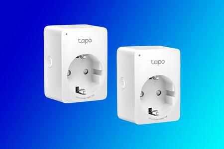 El pack de dos enchufes Wi-Fi TP-Link Tapo P100 baja hasta los 17,99 euros, cerca de su precio mínimo histórico en Amazon