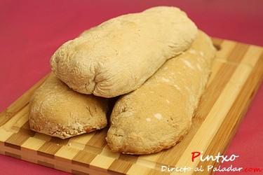 Pan de chapata. Receta