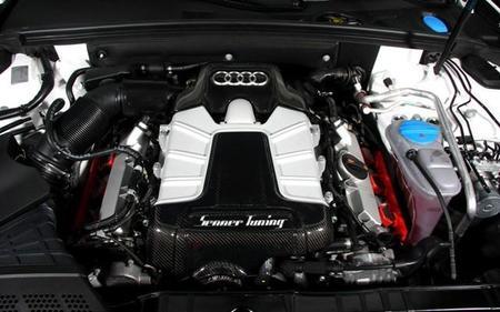 El motor del Audi S5 By Senner Tuning