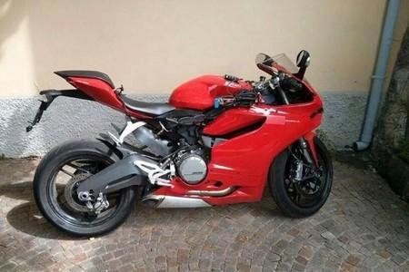 ¿Cazada la Ducati 899 Panigale? Eso parece