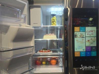 El nuevo frigorífico interactivo de Samsung hará la compra por ti