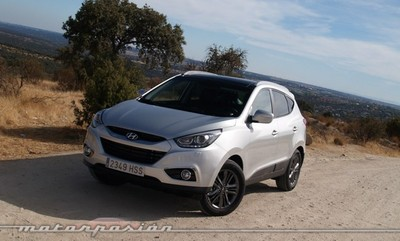 Hyundai ix35 CRDi 136, miniprueba en Madrid