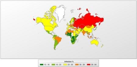 """España, continúa en  riesgo """"moderado"""" de sufrir ataques de malware"""