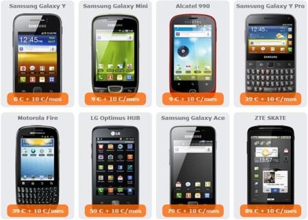 Móviles con financiación disponibles en Euskaltel