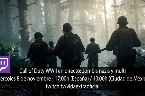 Streaming de Call of Duty WWII a las 17:00h (las 10:00h en CDMX) [finalizado]