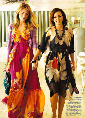 Las chicas de Gossip Girl en Vogue