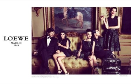 Loewe Fall Winter 2012 Ad Campaign