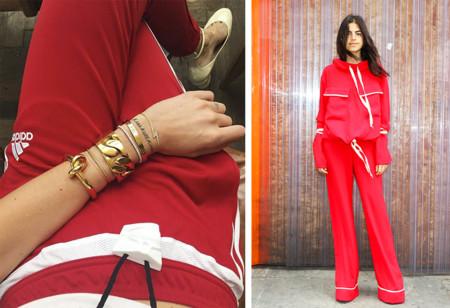 Adidas Chandal Rojo