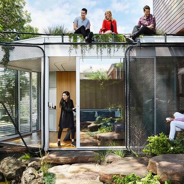 Kiah House: sus dueños querían una casa para meditar, trabajar y vivir y lo consiguieron