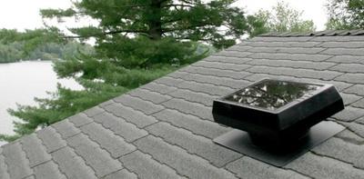 Refresca tu hogar de forma ecológica y económica con Solar Attic Vent, el panel solar de Sunforce