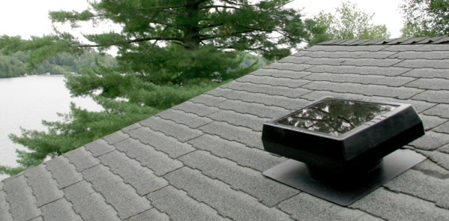 Sunforce Solar Attic Vent